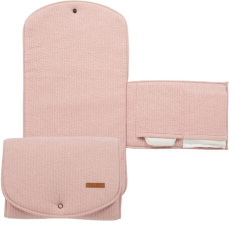 Afbeelding van Roze Little Dutch verschoningsmatje comfort pure pink