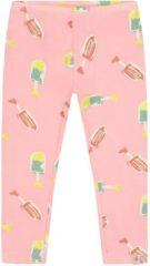 Roze Smitten Organic - Sport Bal Katoen Legging - Powder pink