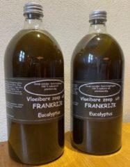 Provendi Vloeibare zeep Black Eucalyptus, set van 2 flessen (1000 ml per stuk voor navulling)