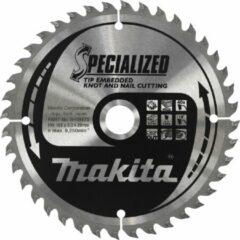 Zilveren Makita Cirkelzaagblad TipE 355x2.0x30mm 40T B-09466
