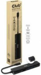 CLUB3D USB TYPE C 7 IN 1 HUB TO HDMI 4K60HZ+SDTF CARD SLOT+2XUSBA + USB C PD +RJ45 Docking USB 3.0 (