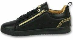 Cash Money Sneaker Sale Mannen - Heren Schoenen Cesar Full Black - CMP97 - Zwart - Maten: 45