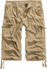 Beige Brandit Cargo - Short - 3/4 - driekwart - Korte broek - Urban - Streetwear - Modern - Outdoor Short - Korte Broek - Outdoor - Urban Loose fit Cargo Maat XXL
