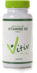 VITIV Vitamine D3 1000iu 360 capsules Beste keuze