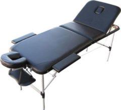 Sonstiges Massageliege Alu Belastbarkeit bis 230 kg, Schwarz