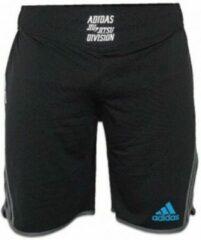 Grijze Adidas Grappling Short Beluga Zwart - XS