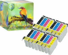 Cyane Ink Hero - 16 Pack - Inktcartridge / Alternatief voor de Epson T0445 T0441 T0442 T0443 T0444 Stylus C84 C84 Photo Edition C84N C84WN C86 C86 CX4600 CX6400 CX6600 44