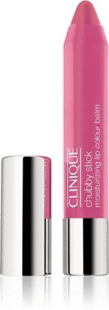 Afbeelding van Paarse Clinique Chubby Stick Moisturizing Lip Colour Balm lippenstift - Woppin' Watermelon