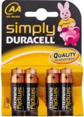 Duracell CopperTop MN1500 - Batterie 4 x AA-Typ Alkalisch 002241
