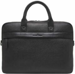 Castelijn & Beerens Laptop schoudertas Onyx Chris Laptop Bag 15.6 Inch Zwart