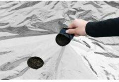 Nature Kweekfolie Universeel - Groeifolie Gronddoek - 0.95x5 m Zwart Zilver Anti-Uv