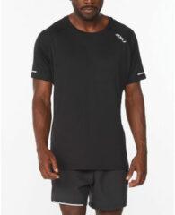 Zilveren 2XU Aero Running Tee - Hardloopshirts (korte mouwen)