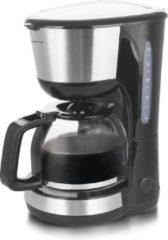EMERIO CME-122933 Koffiezetapparaat Zwart, Zilver Capaciteit koppen: 12 Glazen kan, Warmhoudfunctie