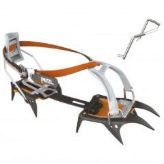 Petzl - Irvis Leverlock Universel - Stijgijzers zwart/oranje