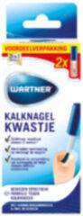 Wartner Kalknagelkwastje DUO Verpakking - kalknagels behandelen - effectieve behandeling van kalknagels en schimmelnagels