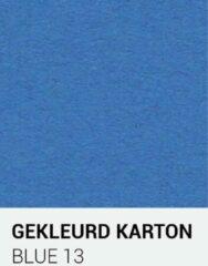Lichtblauwe Gekleurdkarton notrakkarton Gekleurd karton blue 13 A4 270 gr.