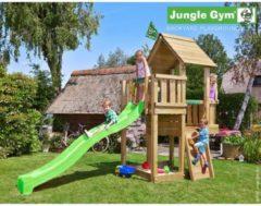 Jungle Gym Speeltoren met Glijbaan (lichtgroen) Cubby