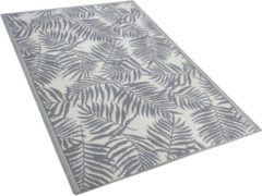 Licht-grijze Outdoor vloerkleed lichtgrijs 120 x 180 cm KOTA
