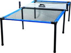 Blauwe Slazenger tafeltennistafel Spyder Air - lichtgewicht - compact - 240 x 120 x 63,5 cm
