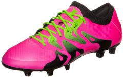 Rosa Adidas Performance X 15.1 FG/AG Fußballschuh Herren