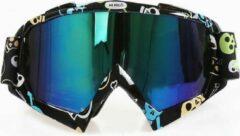 Improducts Skibril stoere luxe lens blauw evo frame zwart N type 1 - ☀/☁