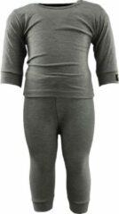 RJ Bodywear RJ Thermo Baby Set Grijs 62/68