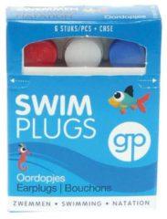 Witte Get Plugged - Swim - Oordoppen - 3 paar