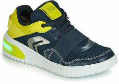 Donkerblauwe Sneakers met Lichtjes Geox XLED