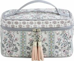 Roze Make-up tasje - Beautycase Mathilde M - Vanity Paradis Fleuri