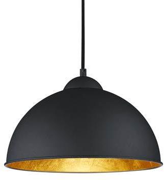 Afbeelding van Reality Leuchten Reality, Hanglamp, Jimmy 1xE27, max.60,0 W Armatuur: Metaal, Zwart Ø:31,0cm, H:127,0cm