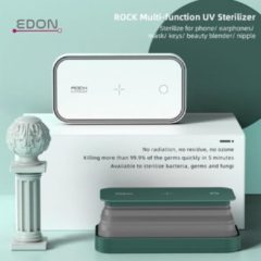 Witte Edon Rock Multi Functioneel 99.9% UV Desinfecteer - Smartphones