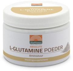 Mattisson L-glutamine Pdr-aminozuur 250 Gram