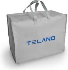 Grijze Telano® Opbergtas 65 x 50 x 30 cm voor Zwangerschapskussen |Voedingskussen|Kussen|Tas
