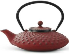 Rode Bredemeijer Xilin theepot 1,25 liter