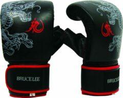 Bruce Lee bokszakhandschoenen Dragon Deluxe zwart/rood maat XL