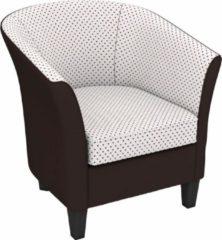 Max Winzer® build-a-chair Cocktailsessel »Luisa« in runder Form, zum Selbstgestalten