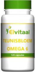 Elvitaal Teunisbloem olie omega 6 120 Capsules