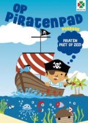 Selecta hobbyboek Op piratenpad junior 30 x 21 cm papier
