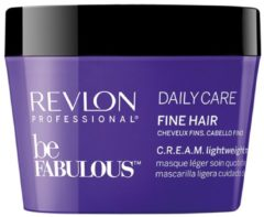 Revlon Professional Haarpflege Be Fabulous Daily Care Fine Hair C.R.E.A.M. Lightweight Mask 200 ml