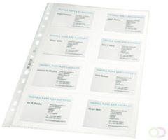 Leitz showtas ft A4 voor visitekaartjes, uit PP, pak van 10 stuks, 11-gaats perforatie