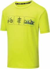 Dare 2b T-shirt Rightful Junior Polyester Lime Maat 128