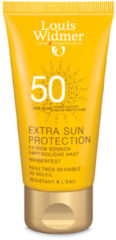 LW Louis Widmer Extra Sun Protection Zonder parfum Zonnecreme SPF50 - 50 ml