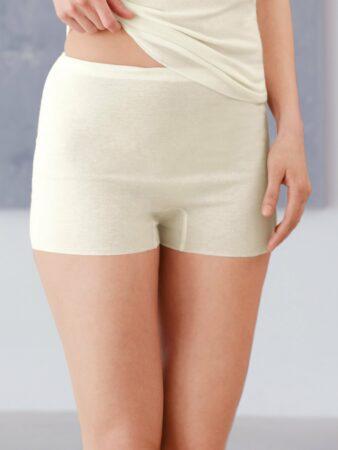 Afbeelding van Slip met pijpjes en rondom elastische band Van Medima wit