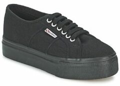 Zwarte Lage Sneakers Superga 2790ACOTW LINEA UP AND DOWN