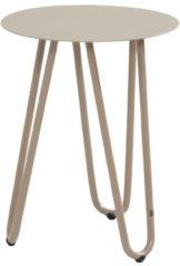 4 Seasons Outdoor Cool bijzettafel 40 cm rond 55 cm hoog taupe (showroommodel)