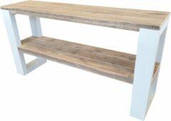 Bruine Wood4you - Wandtafel NewOrleans 120Lx78HX38D cm