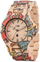 Date Woop Love Beige Armbanduhr WeWood braun