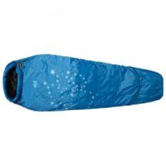 Blauwe Jack Wolfskin - Kid´s Grow Up Star - Kinderslaapzak maat 150 - 190 cm blauw
