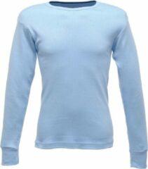 Senvi Thermo - Cool T-Shirt Lange Mouw - Kleur Blauw - Maat XXL