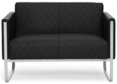 Hjh OFFICE Lounge Sofa ARUBA STEP mit Armlehnen